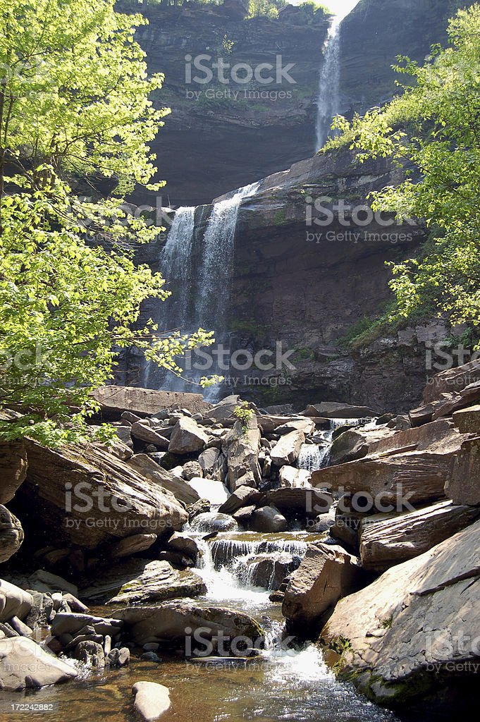 Kaaterskill Falls stock photo