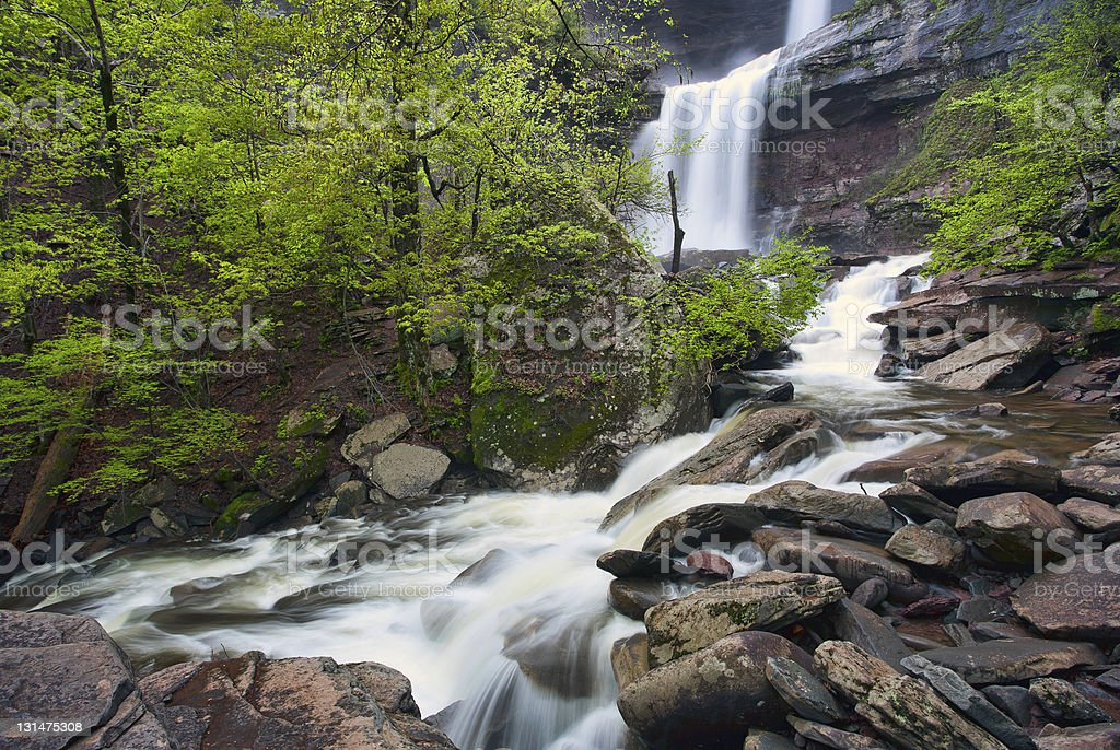 Kaaterskill waterfall stock photo