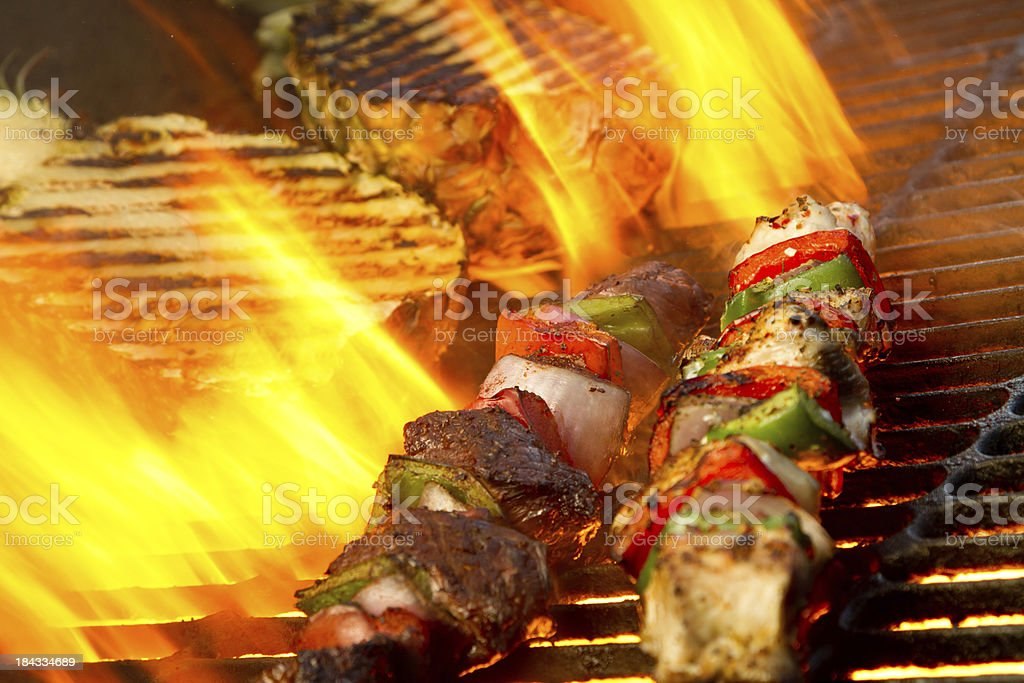 Kabobs royalty-free stock photo