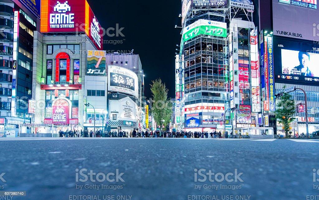 Kabuchiko district, Shinjuku, Tokyo, Japan stock photo