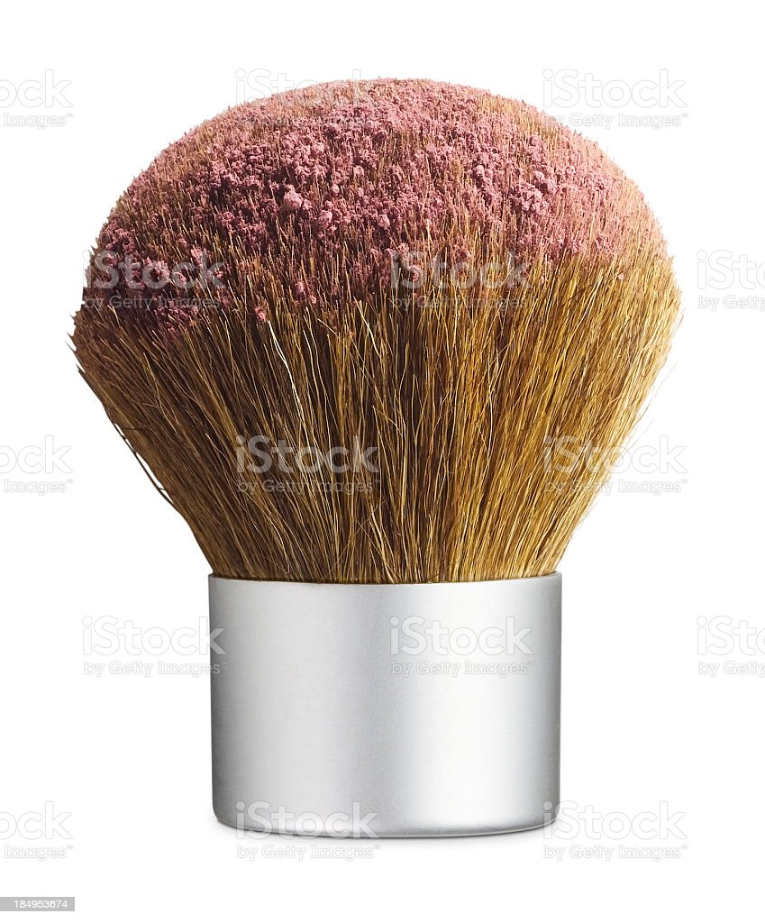 Kabuki Cosmetic Brush royalty-free stock photo