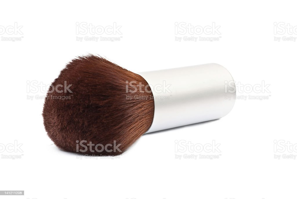 Kabuki Make Up Brush royalty-free stock photo