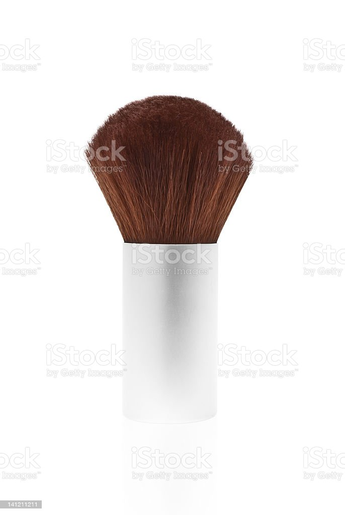 Kabuki Make Up Brush stock photo