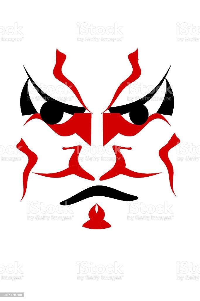 Kabuki stock photo