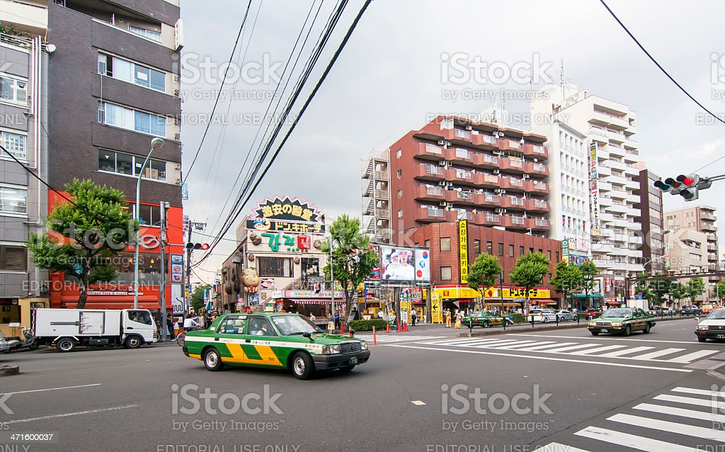 Kabukicho district in Tokyo,Japan royalty-free stock photo