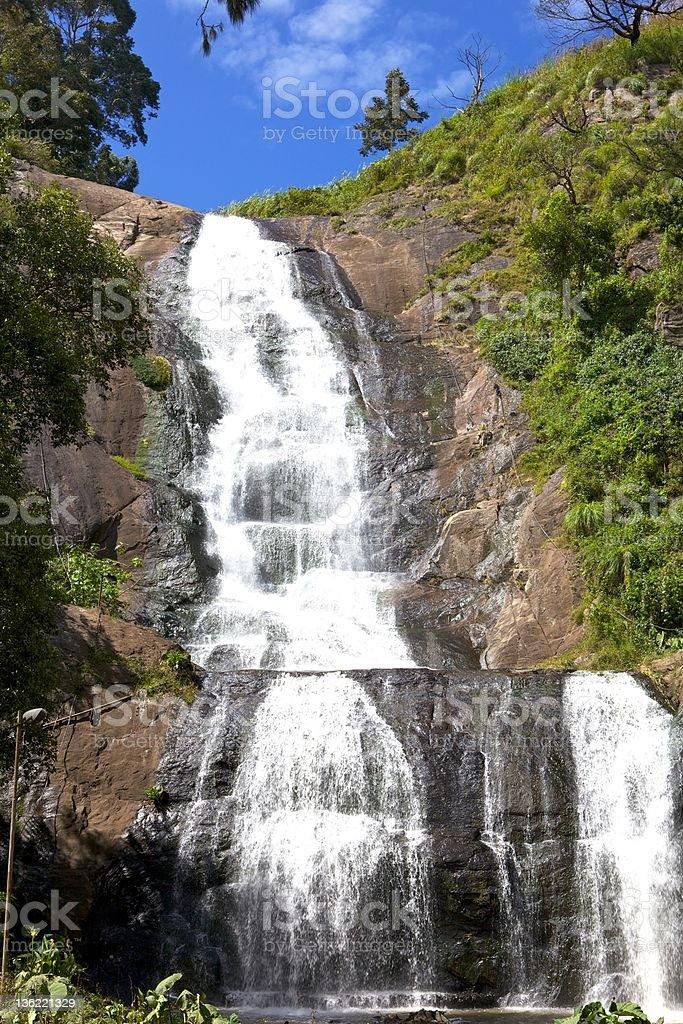 Kadaikanal, India - Silver Cascade Falls stock photo