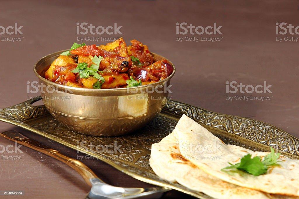Kadhai Paneer stock photo