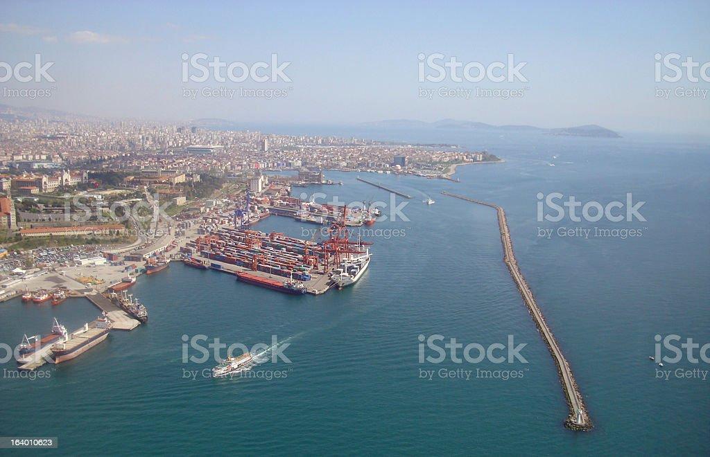 Kadikoy Customs stock photo