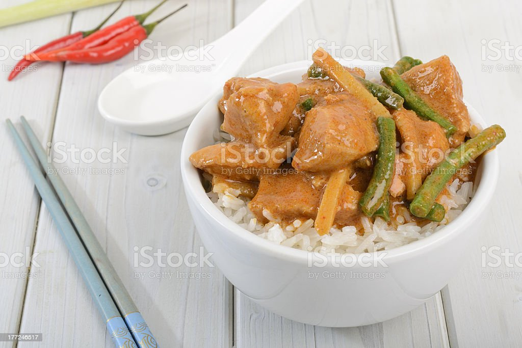 Kaeng Phet Gai royalty-free stock photo