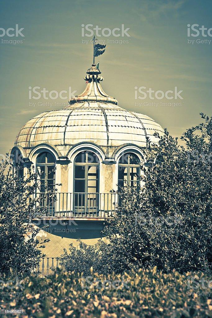 Kaffeehaus (Coffee House) Rococo-Style Pavilion at Boboli Gardens, Firenze stock photo