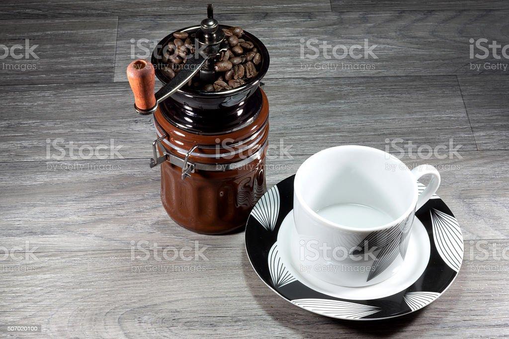 Kaffeemühle stock photo