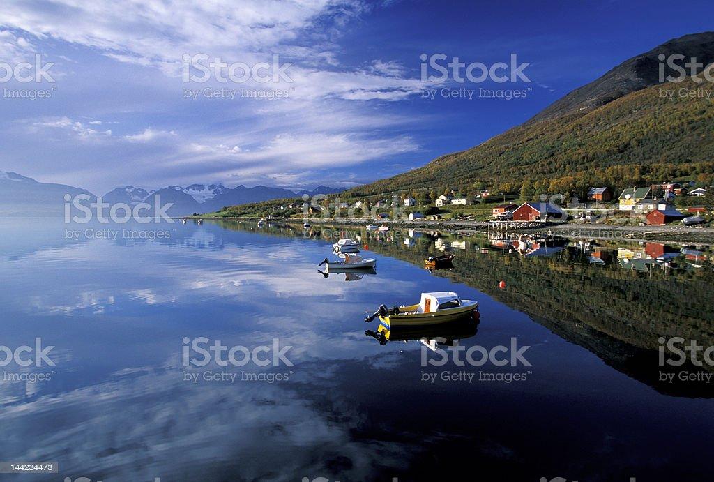 Kafjorden royalty-free stock photo