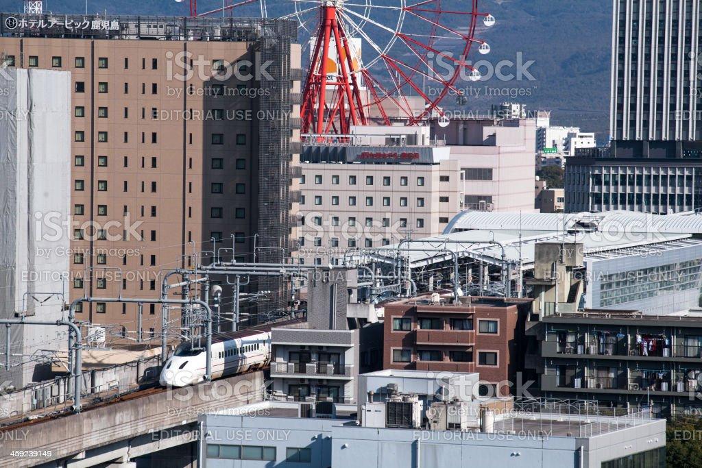 Kagoshima central station royalty-free stock photo