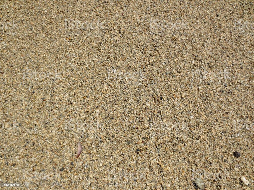 Kahala Beach Sand stock photo