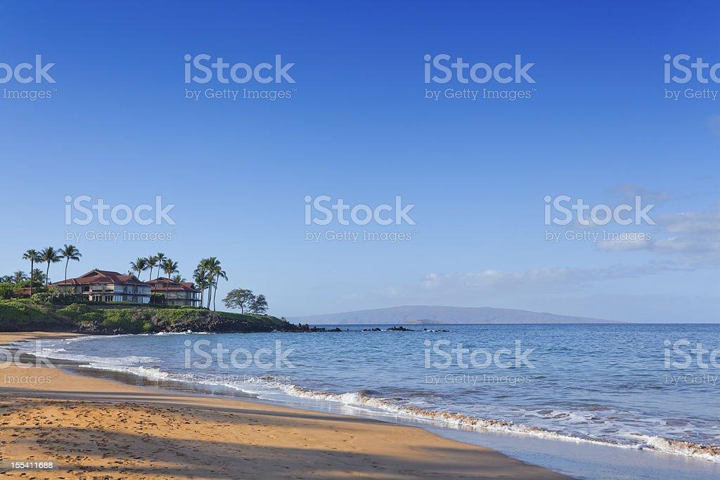 Kahoolawe and Molokini Islands, HI stock photo