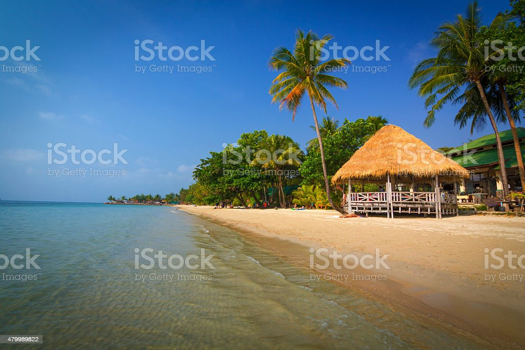 Kai Bae beach stock photo