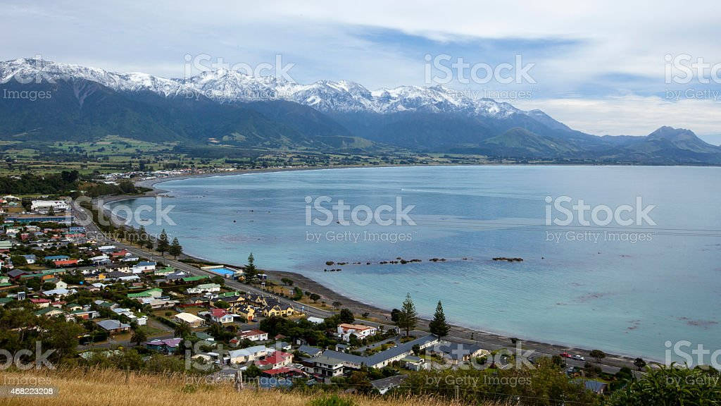 Kaikoura, New Zealand stock photo