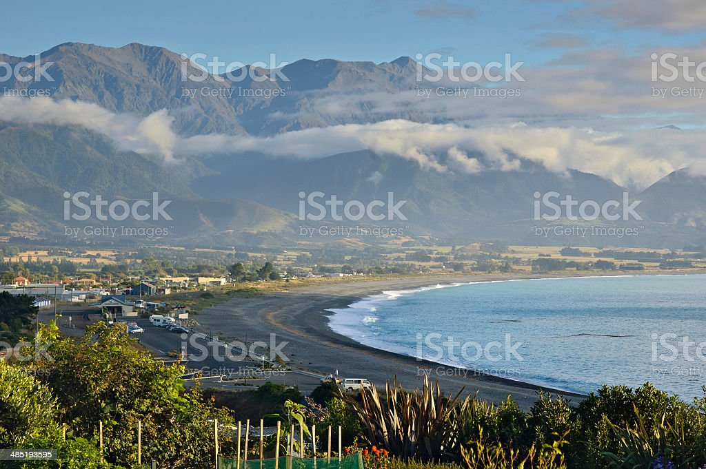 Kaikoura New Zealand South Island stock photo