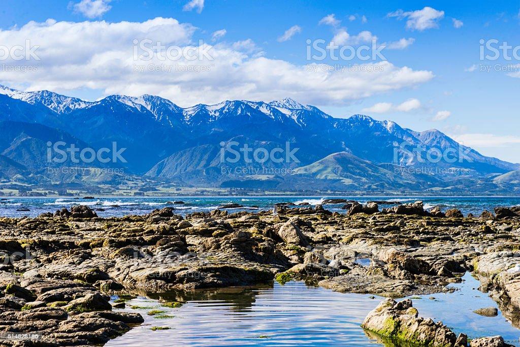 Kaikoura Ranges stock photo