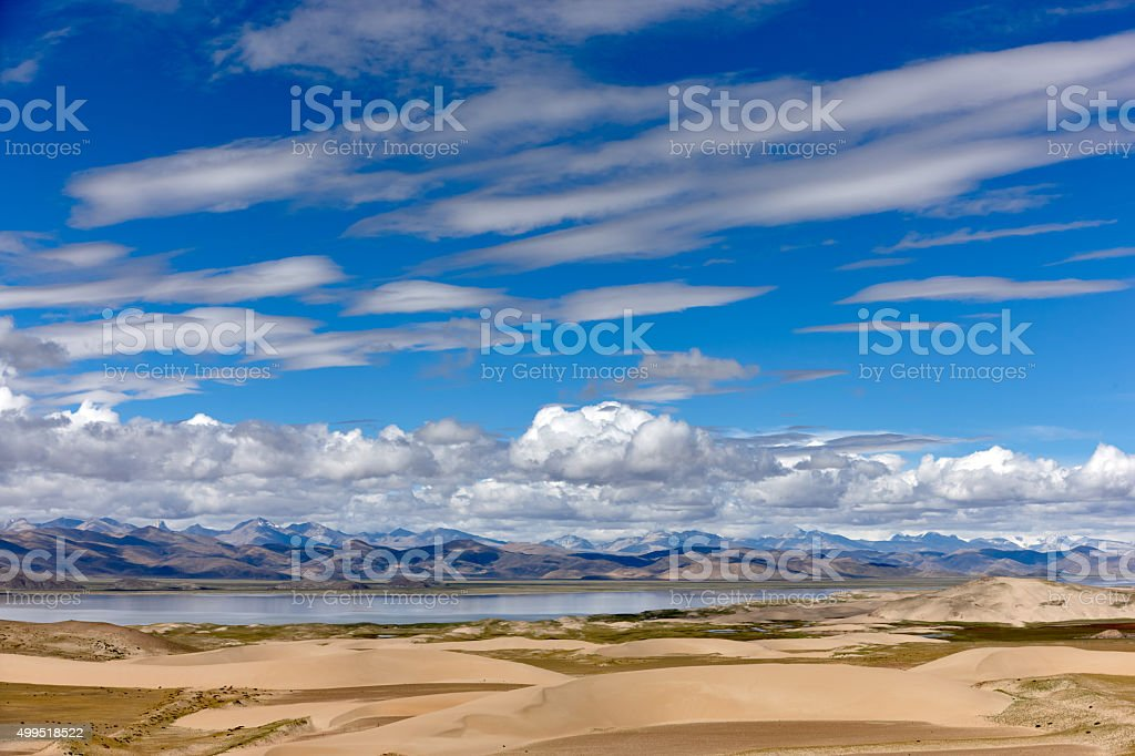 Kailash. Tibet motives. stock photo
