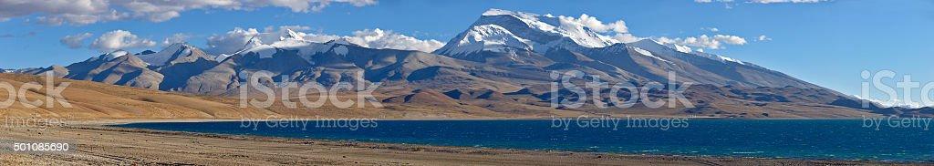 Kailash. Tibet motives. stock photo