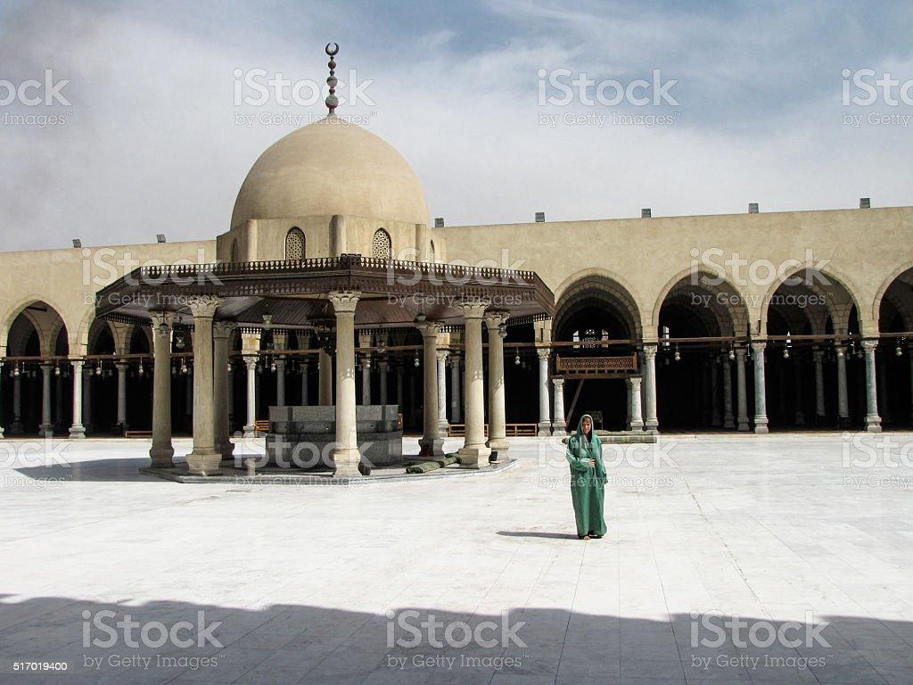 Kairo Amr ibn al-as Moschee, Ägypten stock photo