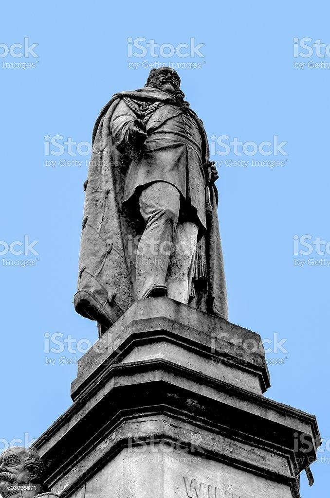 Kaiser Wilhelm Denkmal stock photo
