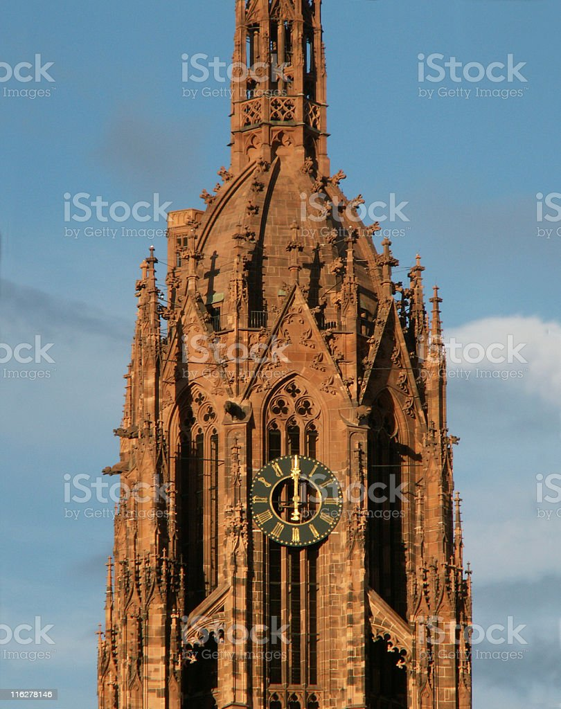 Kaiserdom St. Bartholomäus - Dom zu Frankfurt am Main stock photo