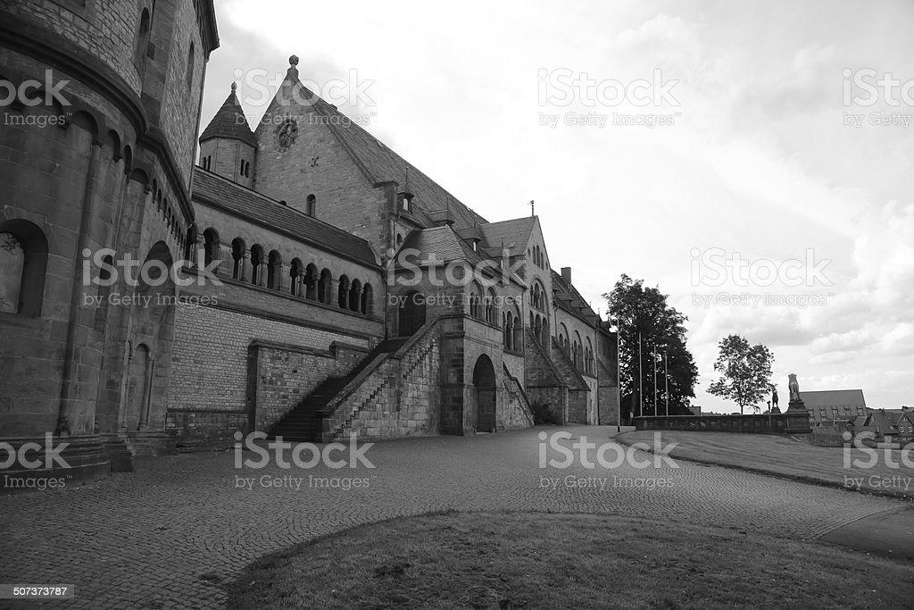Kaiserpfalz Goslar stock photo