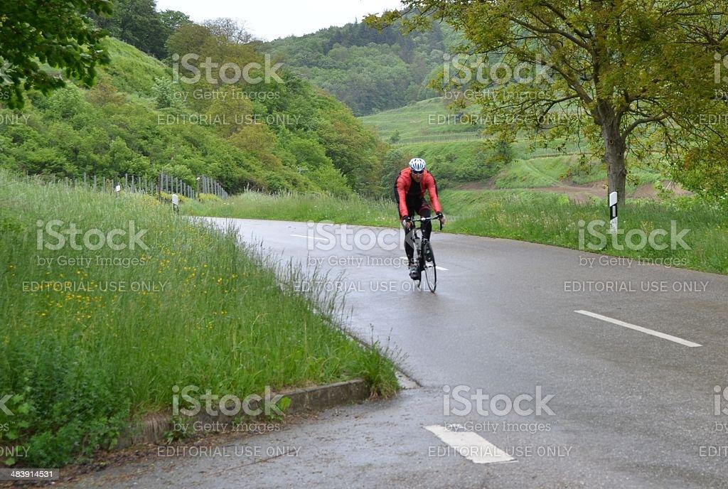 Kaiserstuhl cycling royalty-free stock photo