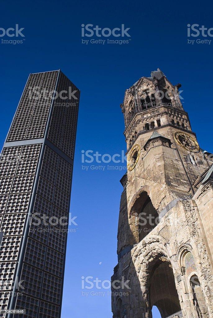 Kaiser-Wilhelm-Ged?chtnis-Kirche royalty-free stock photo