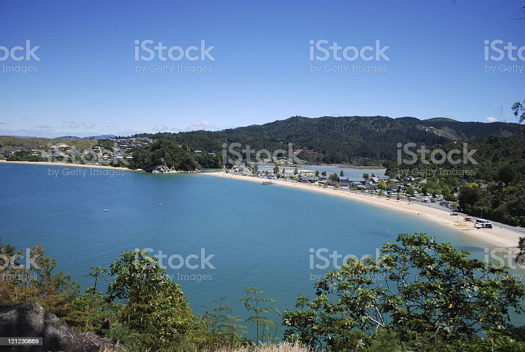 Kaiteriteri Beach stock photo