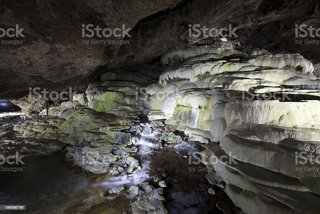 Kaklik Cave royalty-free stock photo