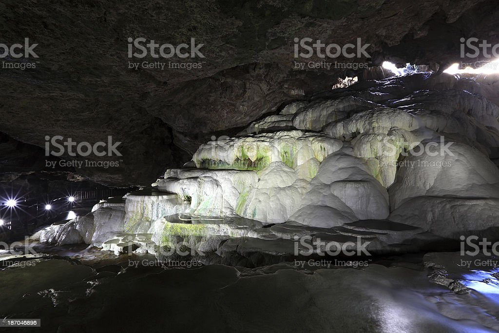 Kaklik Cave stock photo