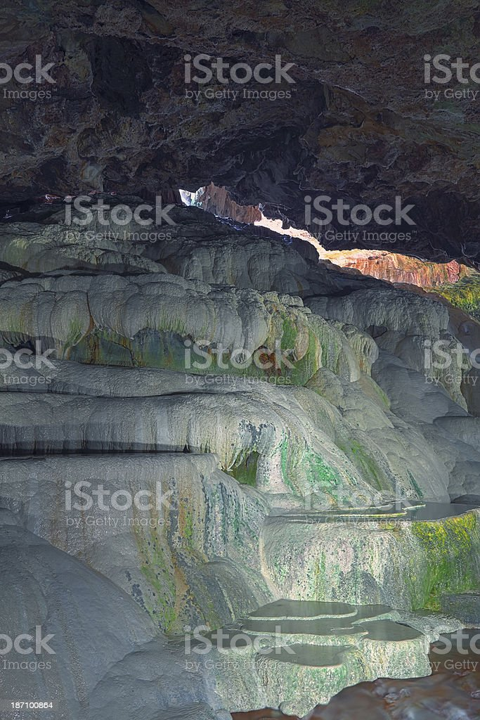 Kaklik Cave - Turkey stock photo