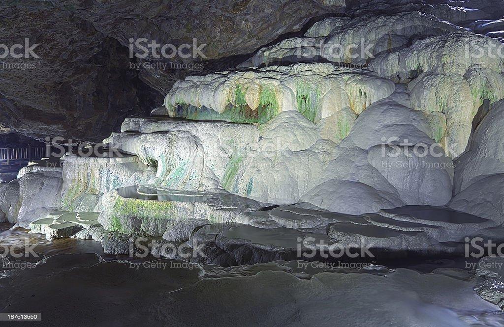 Kaklik Cave - Turkey royalty-free stock photo