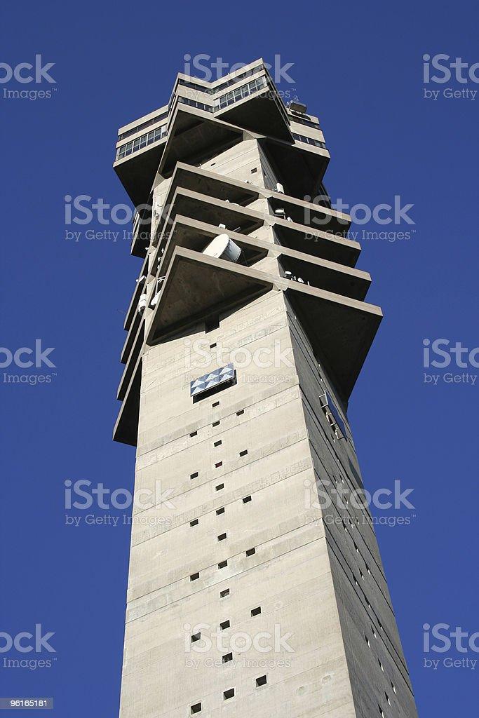 Kaknas tower stock photo