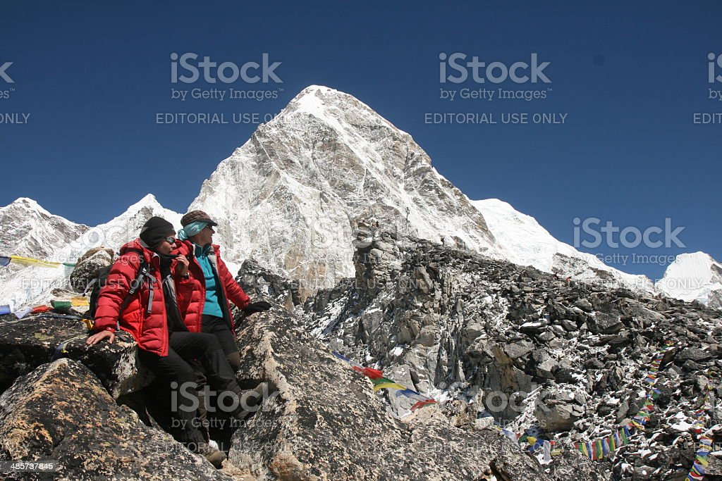 Kala Patthar stock photo