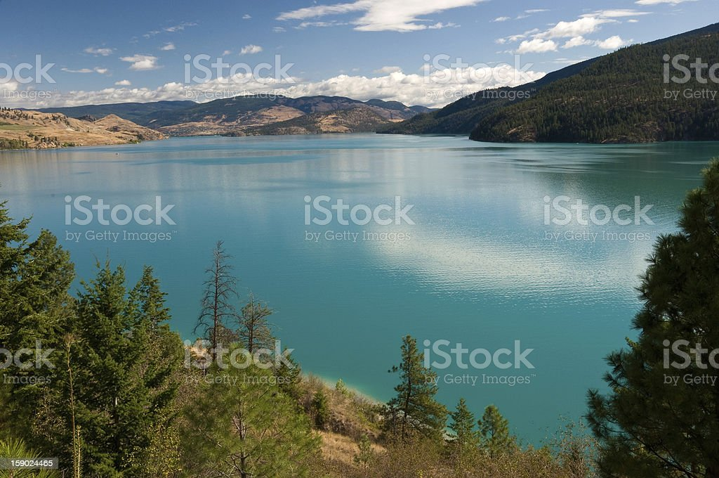 Kalamalka Lake, Okanagan, BC, Canada stock photo