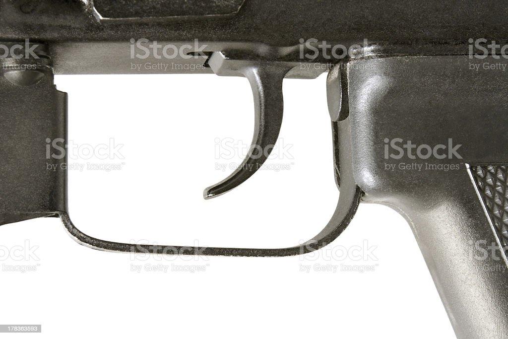 Kalashnikov AK-105 trigger stock photo