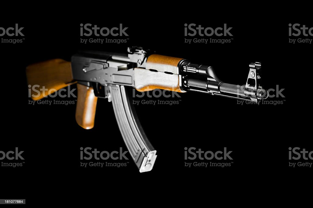 Kalashnikov stock photo