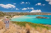 Kalathas beach, Crete Island, Greece