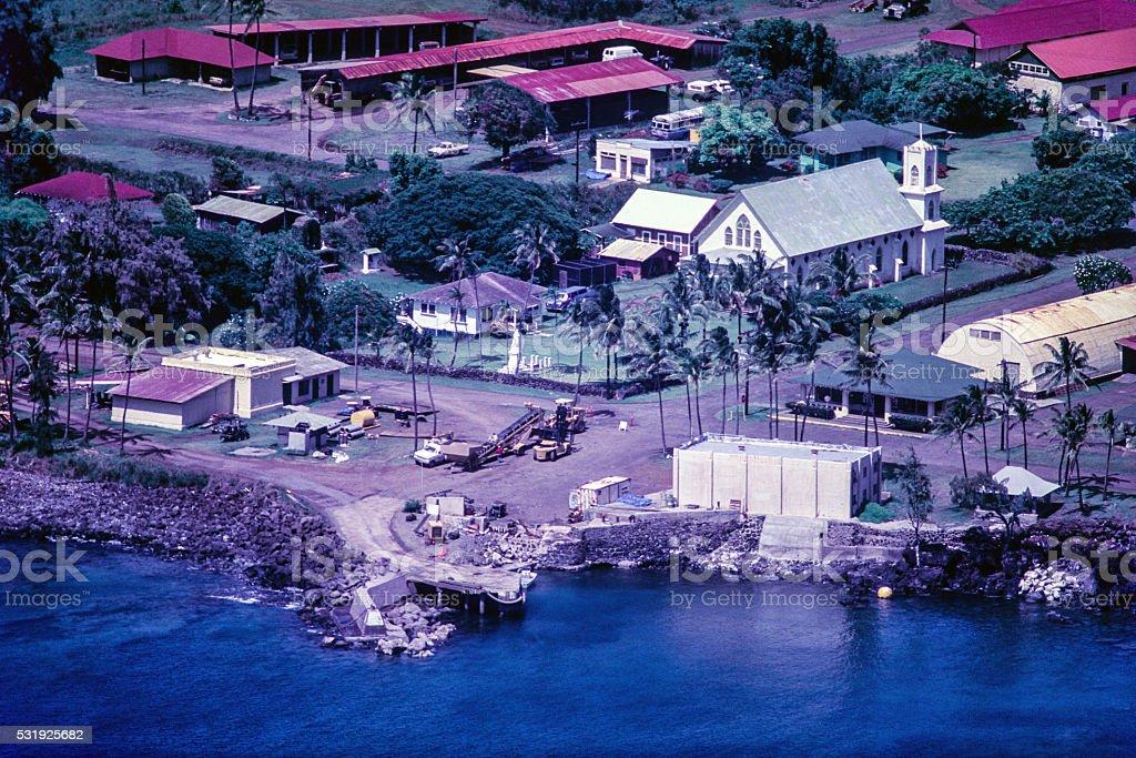 Kalauapa Village stock photo