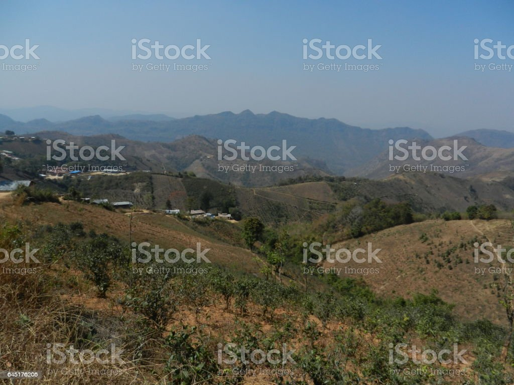 Kalaw, Myanmar stock photo