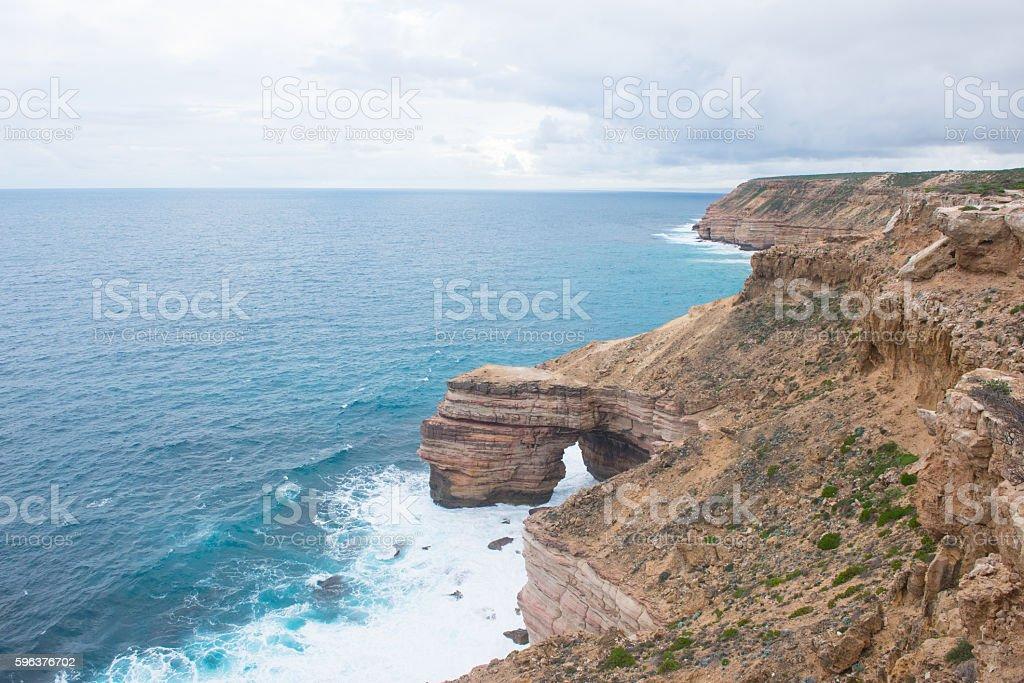 Kalbarri Coast Western Australia stock photo