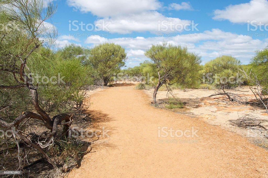 Kalbarri National Park Trail stock photo