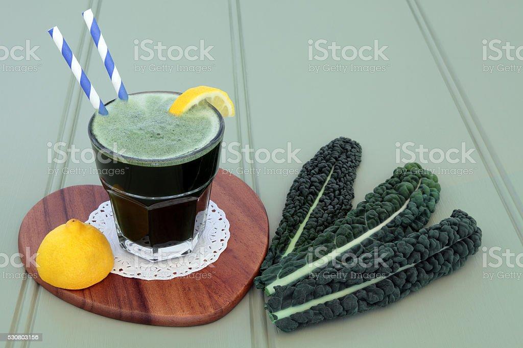 Kale Drink stock photo