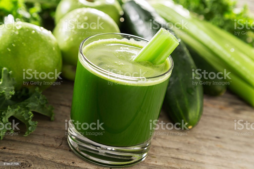 Kale Juice stock photo