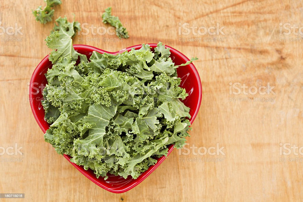 Kale Love's You stock photo