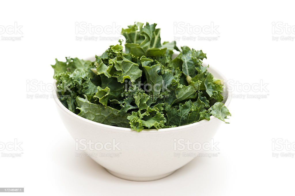 Kale Salad stock photo